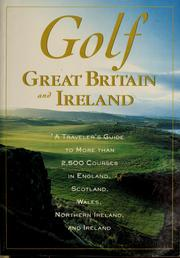Cover of: Golf Great Britain and Ireland | Automobile Association (Great Britain)