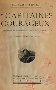 Capitaines courageux by Rudyard Kipling