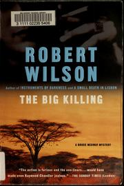 Cover of: The big killing | Wilson, Robert