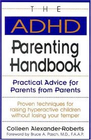 Cover of: The ADHD parenting handbook