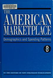 Cover of: The American Marketplace |