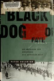 Black dog of fate by Peter Balakian