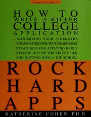Cover of: ROCK HARD APPS | Katherine Cohen
