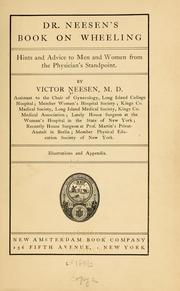 Cover of: Dr. Neesen's book on wheeling | Victor Neesen