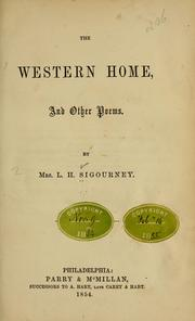 The western home, and other poems