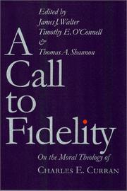Cover of: A Call to Fidelity |