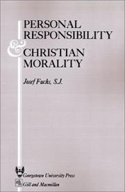 Cover of: Personal responsibility and Christian morality