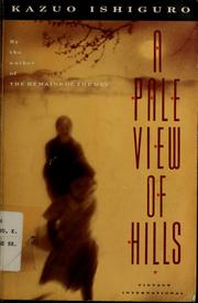 Cover of: A pale view of hills