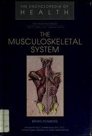 Cover of: The musculoskeletal system | Brian Feinberg