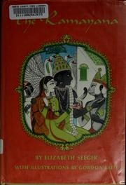 Cover of: The Ramayana | Elizabeth Seeger