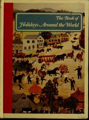 Cover of: The book of holidays around the world | Alice Van Straalen