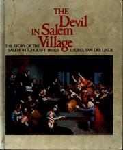 Cover of: The Devil in Salem Village | Laurel Van der Linde