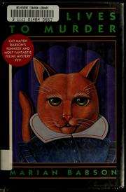 Cover of: Nine lives to murder by Marian Babson