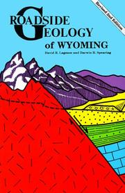 Roadside geology of Wyoming by David R. Lageson