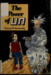Cover of: The Power of Un | Nancy Etchemendy