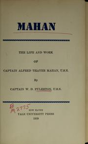 Mahan by W. D. Puleston