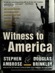 Cover of: Witness to America