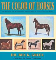 Cover of: The color of horses