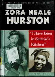 Cover of: Zora Neale Hurston | Laura Baskes Litwin