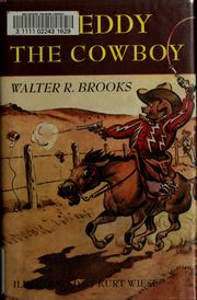 Cover of: Freddy the cowboy | Walter R. Brooks