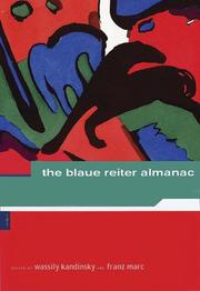 Cover of: The Blaue Reiter almanac