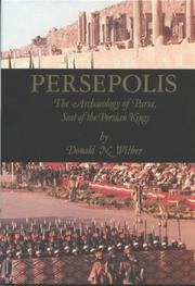 Persepolis by Donald Newton Wilber