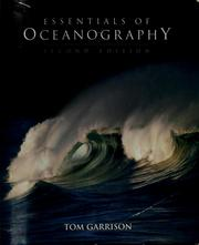 Cover of: Essentials of oceanography | Tom Garrison