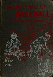 Cover of: Mighty men of baseball | Charles Spain Verral