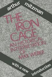 Cover of: The iron cage