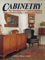 Cover of: Cabinetry