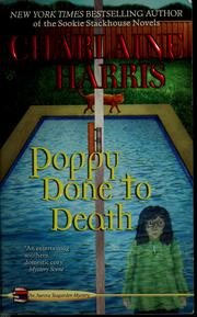 Cover of: Poppy done to death | Charlaine Harris