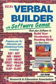 Verbal Builder for Admission and Standardized Tests w