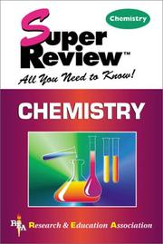 Cover of: Chemistry Super Review