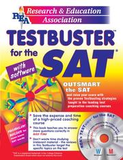 Cover of: SAT Testbuster w/ CD-ROM -- REA's Testbuster for the SAT