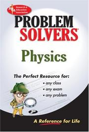 Cover of: The physics problem solver |