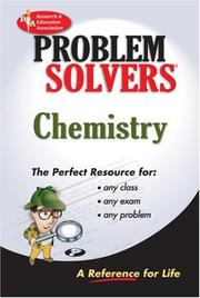 Cover of: The chemistry problem solver