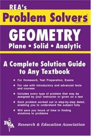 Cover of: The geometry problem solver