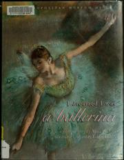 I dreamed I was a ballerina by Anna Pavlova