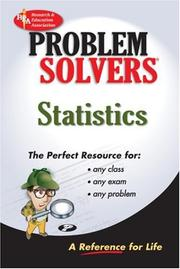 Cover of: The statistics problem solver