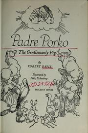 Cover of: Padre Porko | Davis, Robert