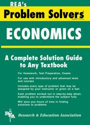 Cover of: The Economics problem solver