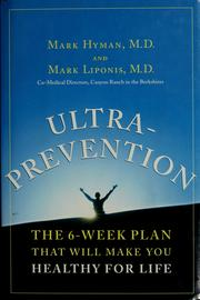 Cover of: Ultraprevention | M.D. Mark Hyman