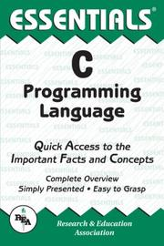 Cover of: The essentials of C programming language