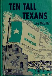 Cover of: Ten tall Texans | Lee McGiffin