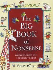 Cover of: Big Book of Nonsense | Colin West