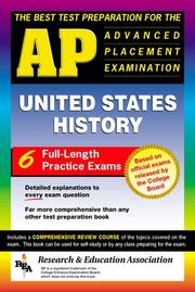 Cover of: The Best Test Preparation for the AP United States History Test Preparations)