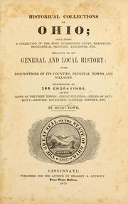 Cover of: Historical collections of Ohio | Henry Howe