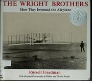 Cover of: The Wright brothers | Russell Freedman
