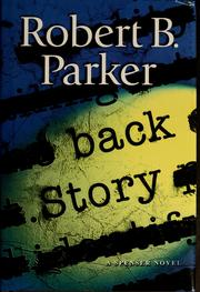 Cover of: Back story by Robert B. Parker