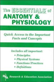 Cover of: The Essentials of Anatomy and Physiology (Essentials)